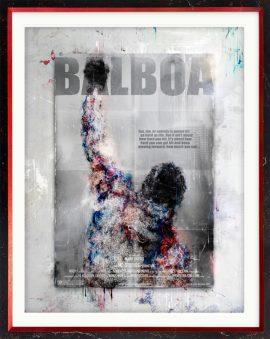 Balboa (Rocky) - Bilboard Edition by Mark Davies