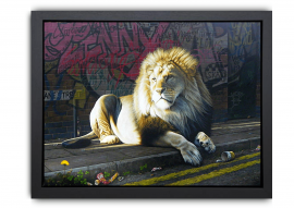 King of the Road - Canvas by Paul James