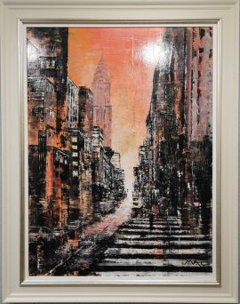 Hot in the City NYC Original by Mark Curryer