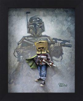 Thinking Inside The Box (Boba Fett/ Star Wars) by Craig Davison