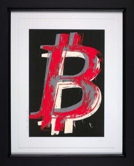 Bitcoin Black by Mr Brainwash