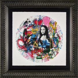 Roundabout - Mona Lisa by Mr Brainwash