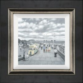 What Do You Like Best Grandad or Chips - Canvas by Leigh Lambert