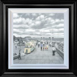 What Do You Like Best Grandad or Chips - Deluxe Canvas by Leigh Lambert