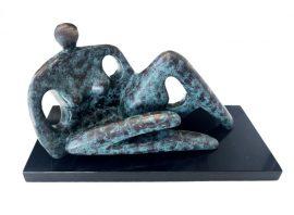 Reclining Nude by Steven Lovatt