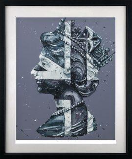 Monochrome - Queen of Jack - Paper Version by Paul Oz
