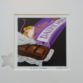 A Little Chocoholic by Marie Louise Wrightson
