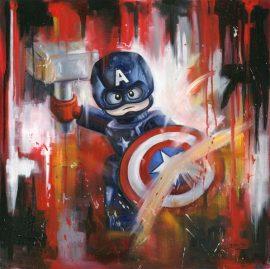 Captain America Original by Deborah Cauchi