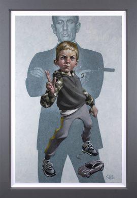 No Tim To Die Canvas by Craig Davison