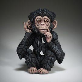 "Baby Chimpanzee ""Hear no Evil"" by Edge Sculpture"